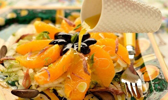 L'insalata di finocchi e arance alla siciliana